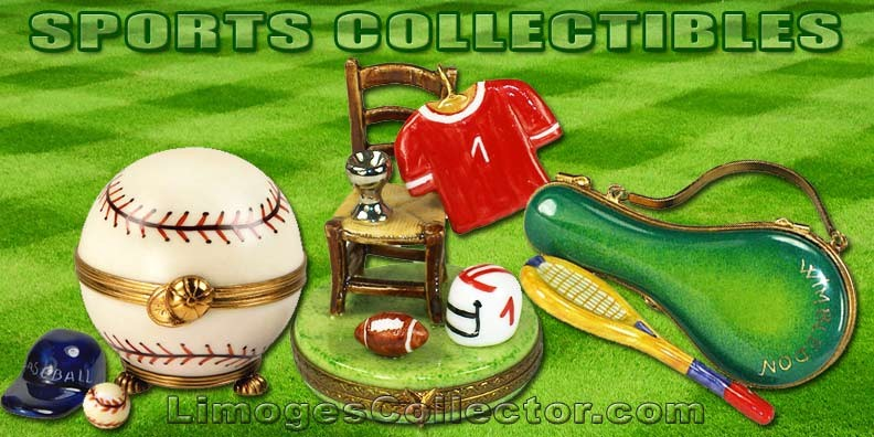 Luxury Limoges Boxes for Sports Fanatics