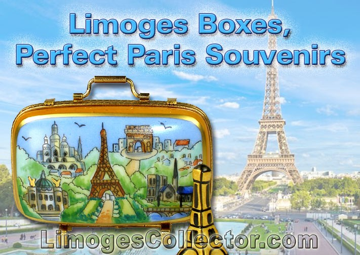Limoges Boxes, Perfect Souvenirs to Remember Paris By