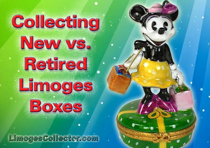 Collecting New vs. Retired Limoges Boxes
