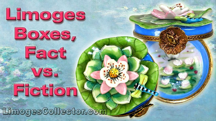 French Limoges Boxes:  Fact vs. Fiction