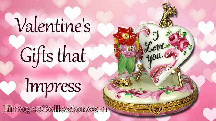 A Valentine's Day Gift to Impress: A Hand-Painted French Limoges Box