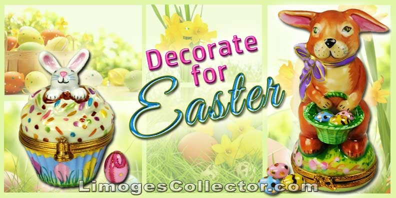 Easter-Inspired Limoges Porcelain Miniatures You Must Add To Your Easter Decorations