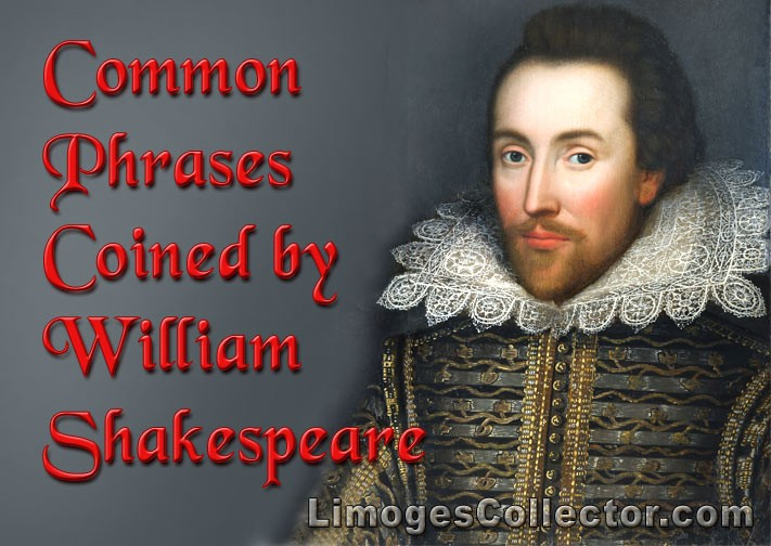 Common Phrases Coined by William Shakespeare