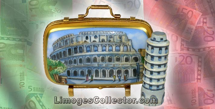 Travel to Italy ~ Tips & Limoges Box Keepsakes