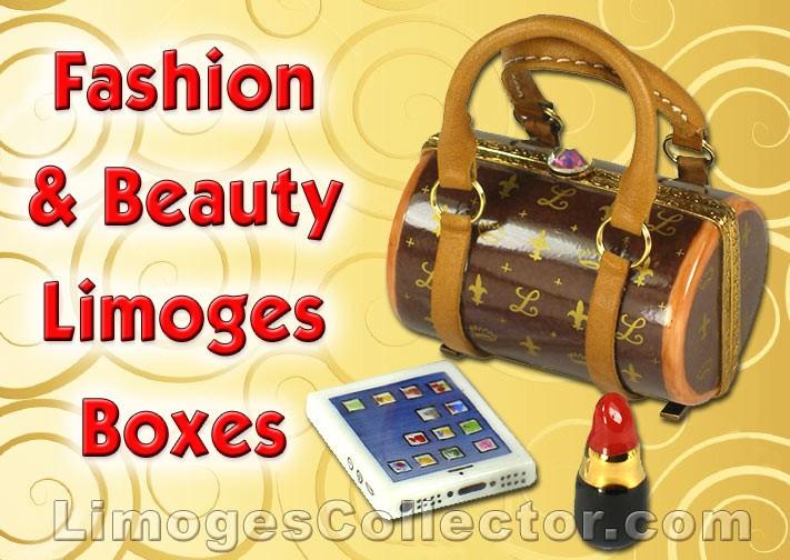 "Fashion & Beauty Limoges Box Collectibles That Say ""Oooh La La"""