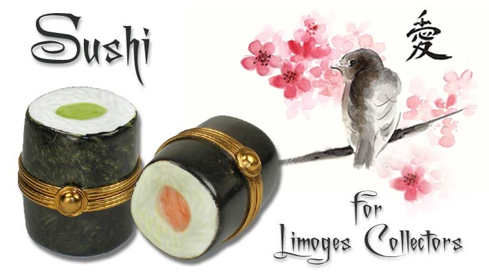 Sushi Or Not Sushi!  A Fun Question For Limoges Collectors