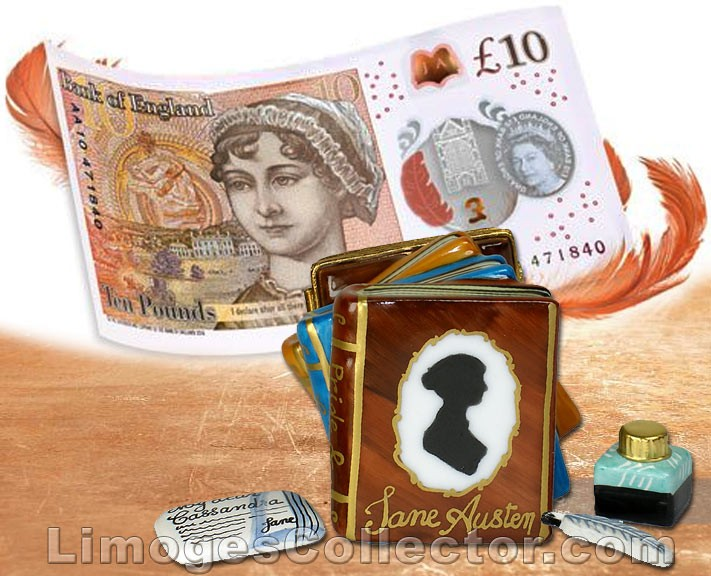 The New 10£ Note Increases Jane Austen Collectibles Values
