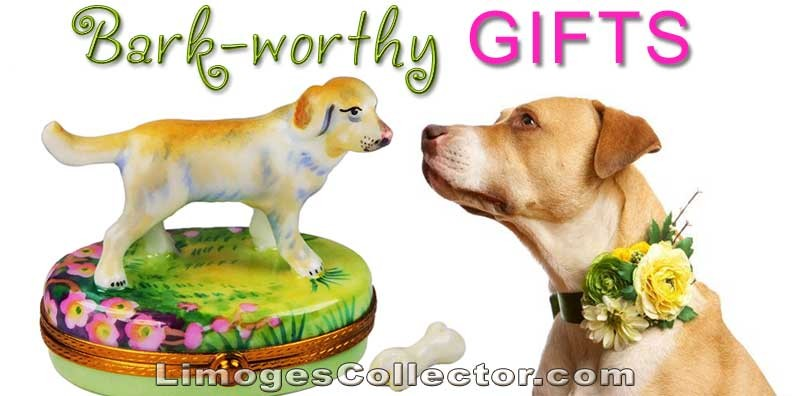 Bark-Worthy Limoges Dog Boxes Any Mom Would Love