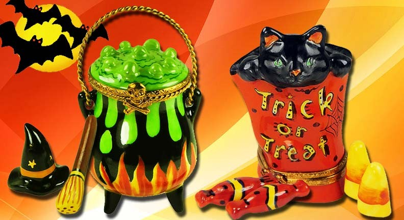 8 Boo-tiful Limoges Boxes for a Spooky Home This Halloween