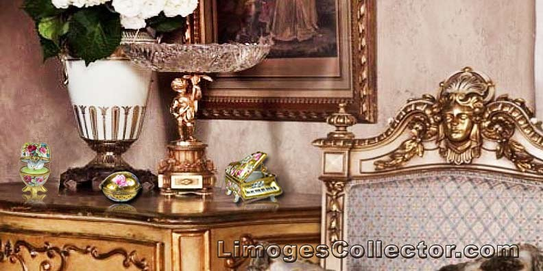 Limoges Miniatures add Elegance to your Home Décor