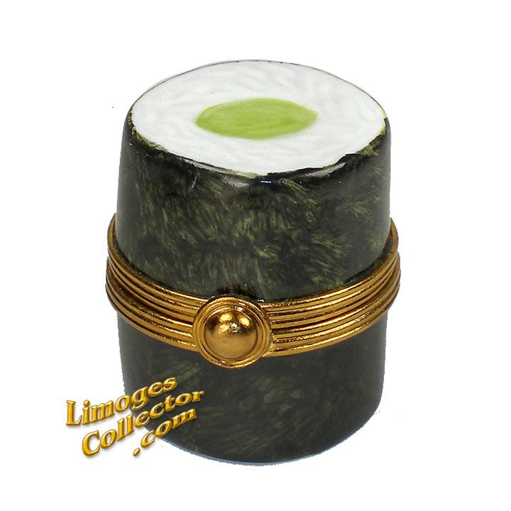Veggie Sushi Limoges Box | LimogesCollector.com