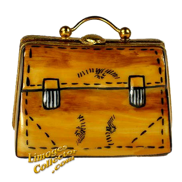 Briefcase Limoges Box | LimogesCollector.com