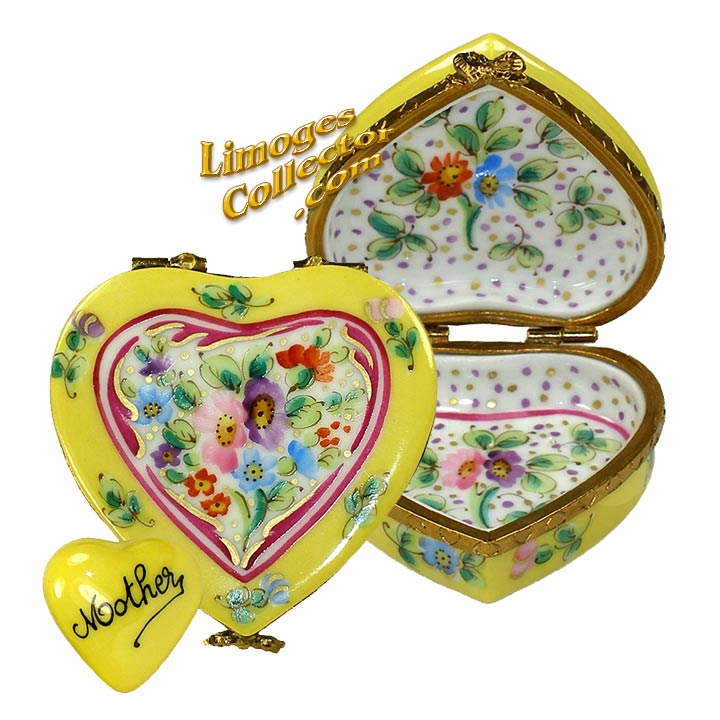 Floral Heart for Mother Limoges Box by Beauchamp | LimogesCollector.com