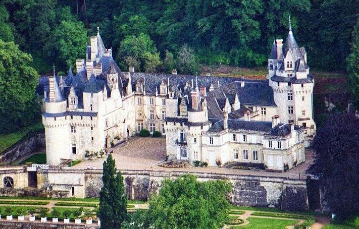 Usse Chateau, Loire, France