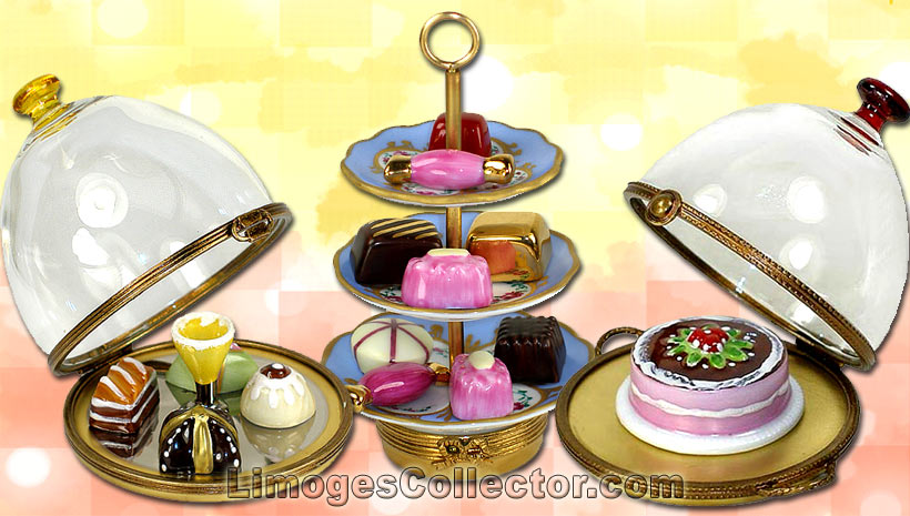 Display your Limoges boxes in groups such as Food Limoges boxes | LimogesCollector.com