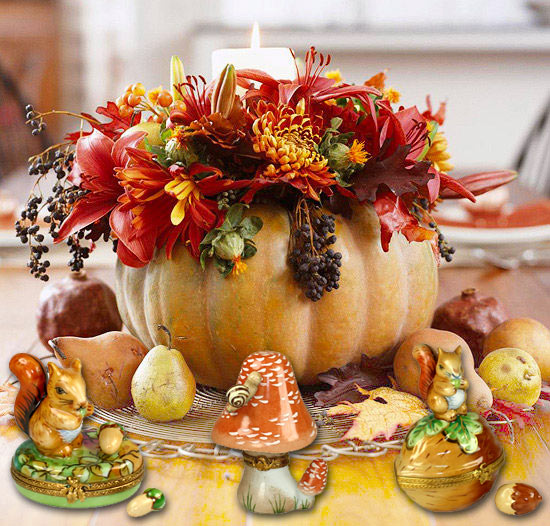 Decorate your home with Fall and Thanksgiving Limoges boxes | LimogesCollector.com