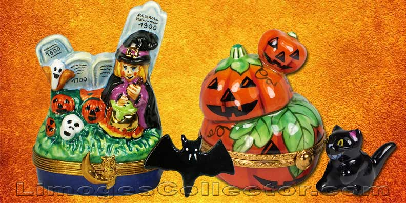 Halloween Limoges Boxes at LimogesCollector.com