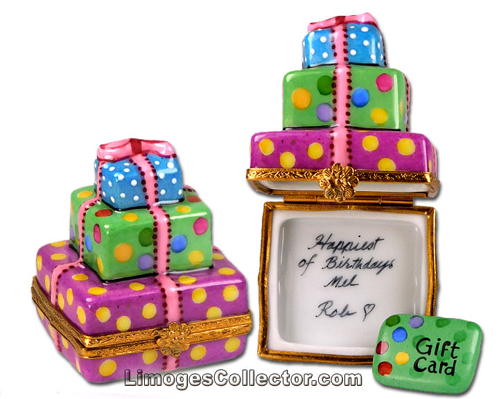 Personalized Birthday Gifts Limoges Boxes at LimogesCollector.com