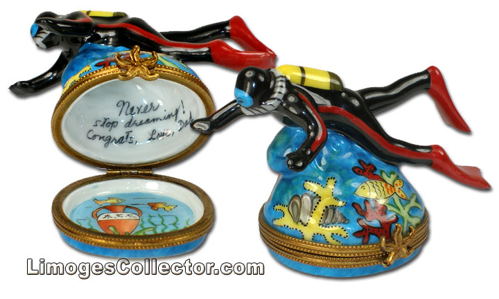 Personalized Travel-Themed Limoges Boxes at LimogesCollector.com