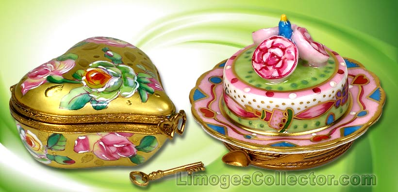 Limoges boxes come in a large variety of shapes and styles | LimogesCollector.com