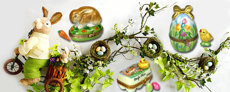 Decorate your home with Spring and Easter Limoges Boxes | LimogesCollector.com