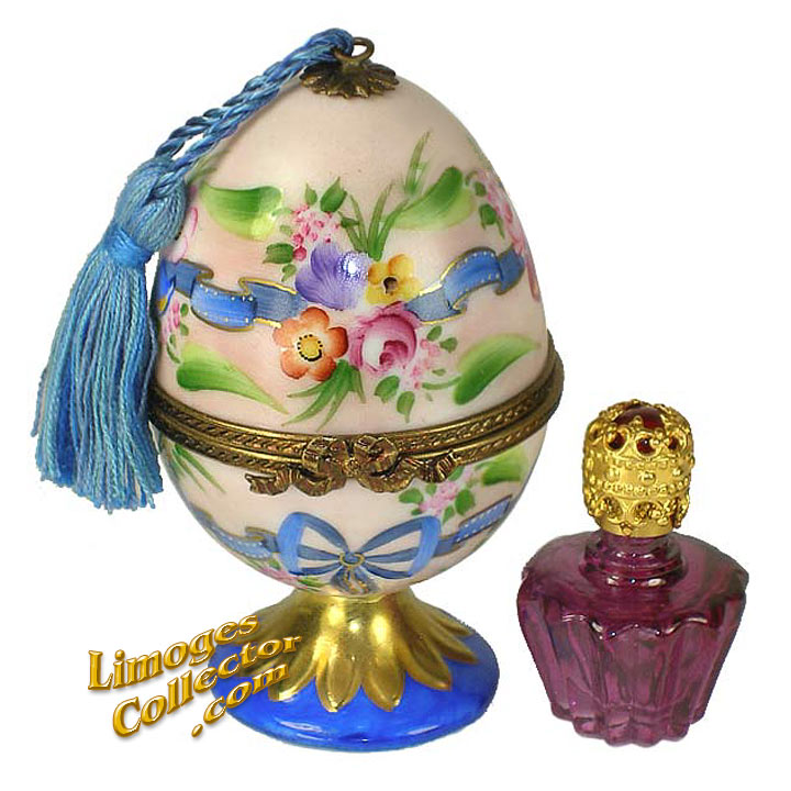 Egg Perfume Limoges Box | LimogesCollector.com