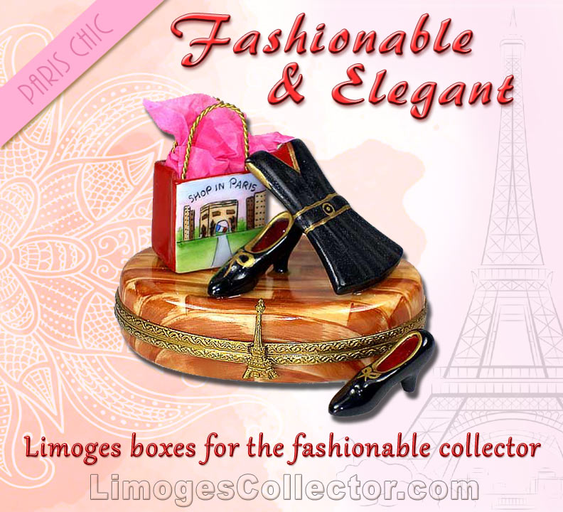 Fashion Limoges Boxes for Mother's Day | LimogesCollector.com