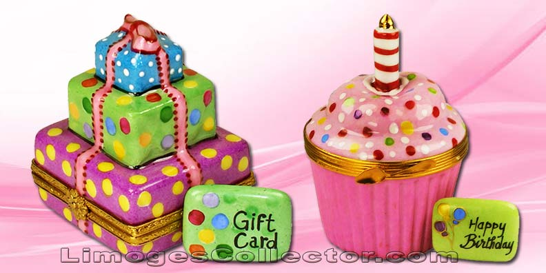 Birthday Limoges Boxes | LimogesCollector.com
