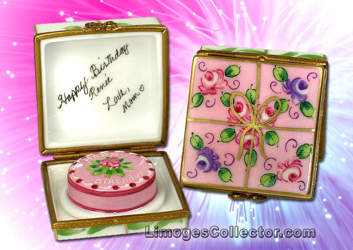 Personalized Birthday Gift Limoges Boxes | LimogesCollector.com