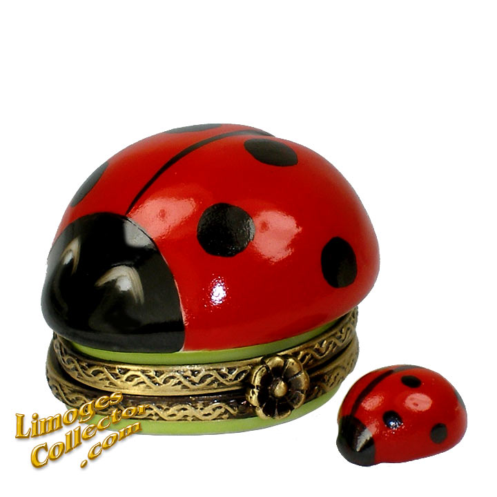 Good Luck Ladybug Limoges box | LimogesCollector.com