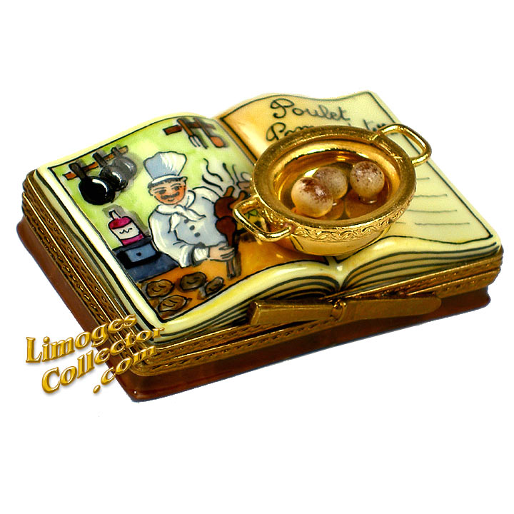 Cookbook Limoges Box by Beauchamp | LimogesCollector.com