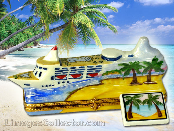 Cruise Ship and Travel Limoges Boxes - perfect Mother's Day gifts | LimogesCollector.com