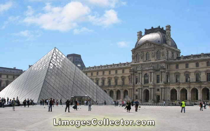The Paris Louvre Museum | LimogesCollector.com
