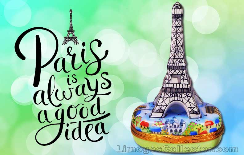 Eiffel Tower Limoges boxes | LimogesCollector.com