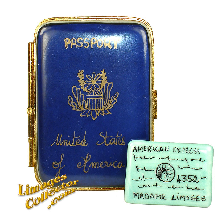 Passport Limoges Collectible