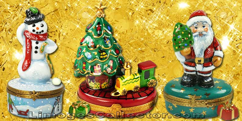 Decorate your home for Christmas with Christmas Limoges boxes | LimogesCollector.com