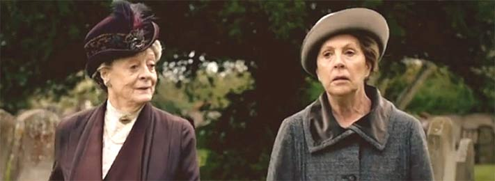 Violet and Isobel of Downton Abbey