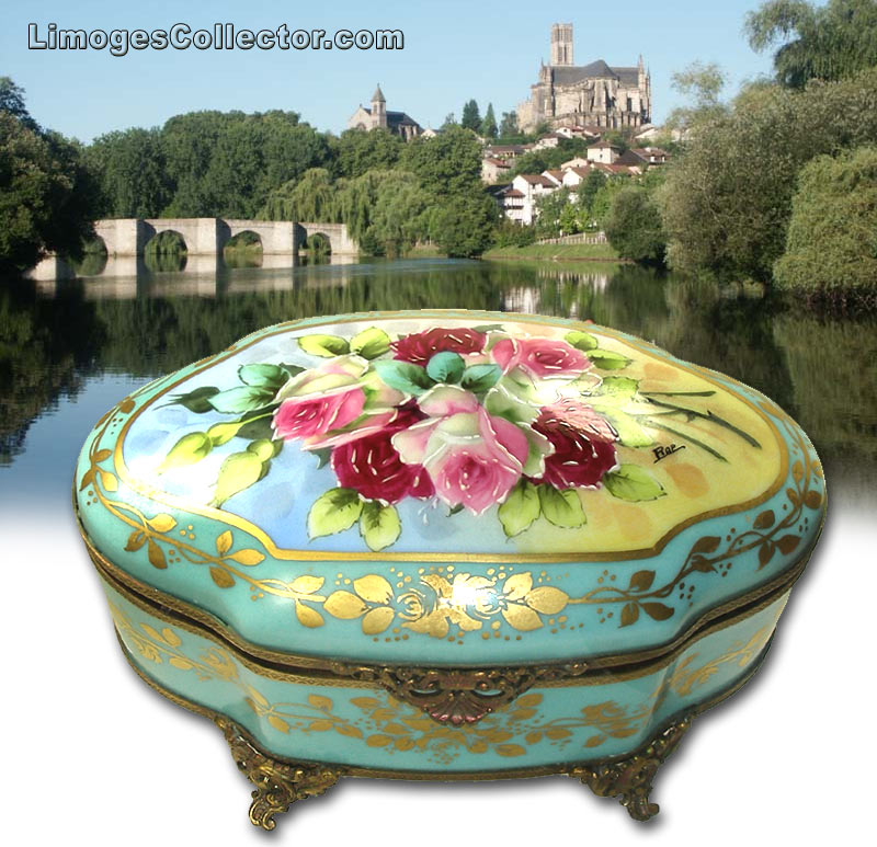 Limoges Boxes produced by master artisans in Limoges France | LimogesCollector.com