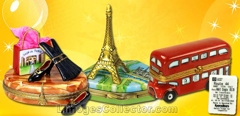 Travel Limoges Boxes | LimogesCollector.com