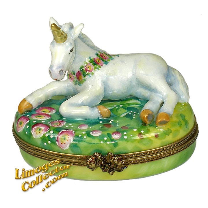 Unicorn Exclusive Limoges Box by Beauchamp