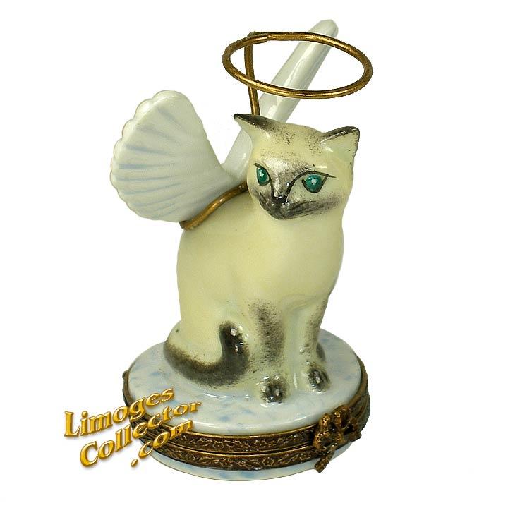 Angelic Cat Limoges Box | LimogesCollector.com