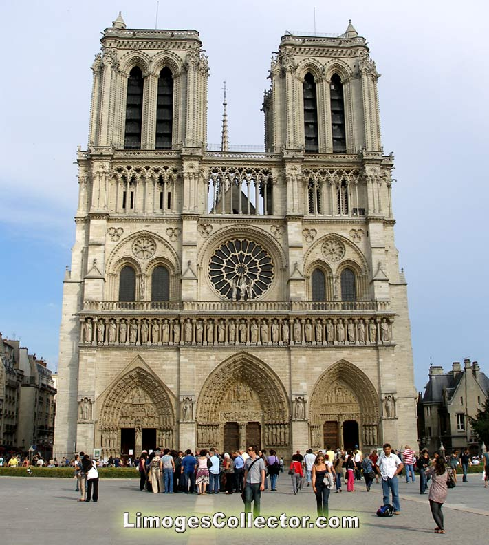 Notre Dame Cathedral in Paris | LimogesCollector.com