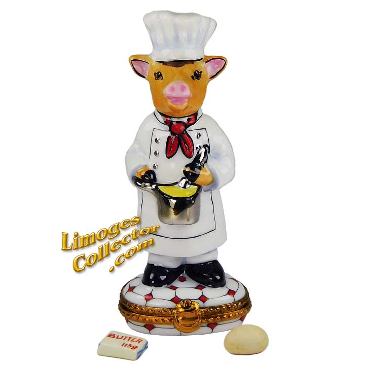 Bovine Chef Limoges Box | LimogesCollector.com