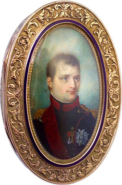 Snuffbox commissioned by Napoleon Bonaparte