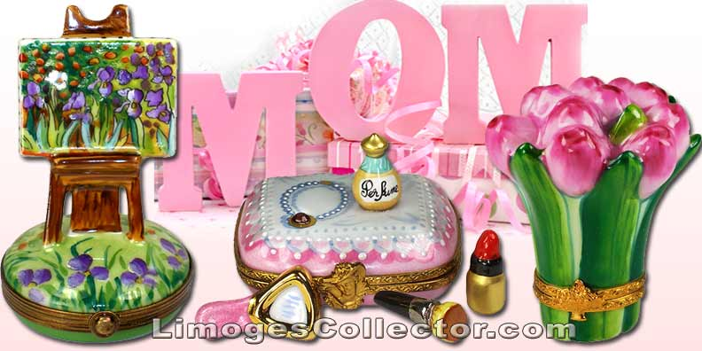 Limoges boxes come in every shape and form for Mother's Day | LimogesCollector.com
