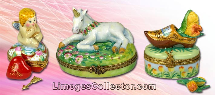 Hand-Painted and Hand-Crafted Limoges Boxes Imported from Limoges, France | LimogesCollector.com