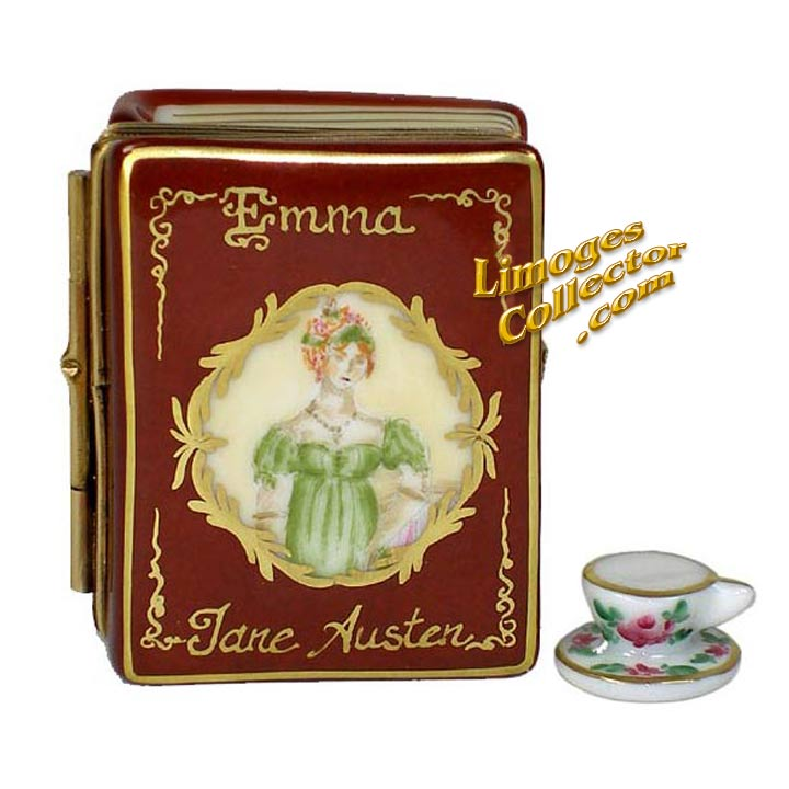 "Jane Austen's Novel ""Emma"" Limoges Box by Beauchamp 
