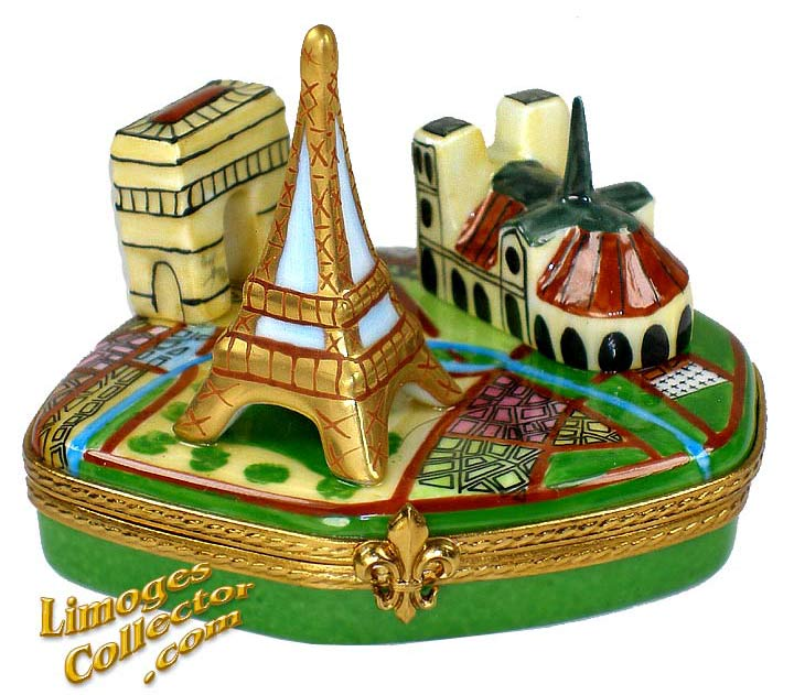 Paris Landmarks Collection Limoges Box | LimogesCollector.com