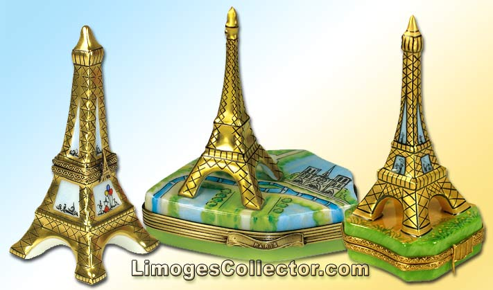 Eiffel Tower Limoges boxes make perfect Paris Souvenirs | LimogesCollector.com