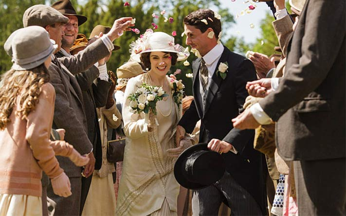 Lady Mary of Downton Abbey marries for the second time